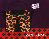 Leopard Handbag IV Prints by Jennifer Matla