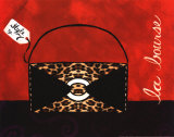 Leopard Handbag II Prints by Jennifer Matla