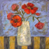 Red Poppies Posters by Carolyn Holman
