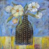 Blue Impressions Posters by Carolyn Holman