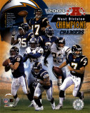 2004 Chargers AFC West Champ.Composite Photo