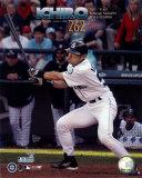 Ichiro Suzuki - All Time Single Season Hits Leader at 262 Hits Photo