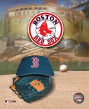 Red Sox - '04 Logo & Cap Photo