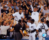 Derek Jeter - '04 Catch In Stands Photo
