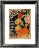 Pastilles Poncelet Prints by Jules Chéret