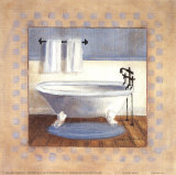 Country Bath II Prints by Carol Robinson