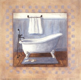 Country Bath I Posters by Carol Robinson
