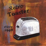 Retro Toaster, Circa 1948 Art by Eugene Tava