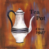 Tea Pot, Circa 1947 Art by Eugene Tava