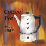 Coffee Pot, Circa 1952 Posters by Eugene Tava