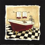 Altmodische BadewanneII Kunstdrucke von Carol Robinson