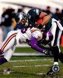 LJ Smith - Eagles - 2004-2005 Blocking Photo