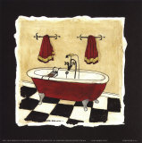 Old Fashioned Tub IV Prints by Carol Robinson