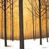Calidez en invierno Láminas por Patrick St. Germain