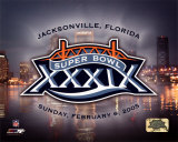Super Bowl XXXIX LOGO - Jacksonville Florida Photo