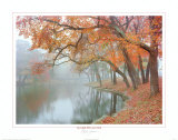 Autumn Reflections Poster by Mike Jones
