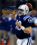 Peyton Manning Colts - NFL Single Season Record Setting 49th Touch Down Pass Photo