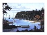 Island Paradise Prints by Bill Saunders
