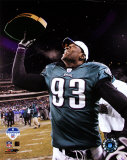 Jevon Kearse - 2004 NFC ChampionshipTrophy Photo