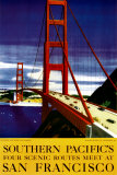 Souther Pacific, San Francisco Prints