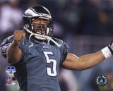 Donovan McNabb: Siegesfreude bei der NFC-Meisterschaft 2004 Foto