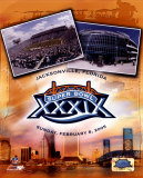 Super Bowl XXXIX LOGO and Stadium - Jacksonville Florida Photo