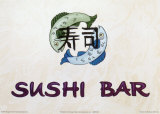 Sushi Bar Print by Madison Michaels