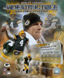Brett Favre - 200th Start / Indestructible Composite Photo