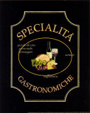 Specialita Gastronomiche Posters by Catherine Jones