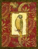 Exotica Parrot Poster af Charlene Audrey