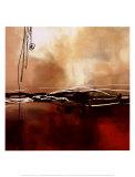 Sinfonía en rojo y caqui I Pósters por Laurie Maitland