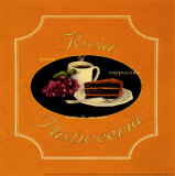 Rosa Pasticceria Print by Catherine Jones