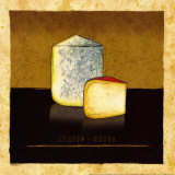 Cheeses II Art by Andrea Laliberte