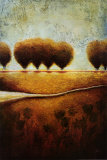 Abstract Landscape II Posters by Susan Osborne