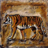 Safari Tiger Prints by Tara Gamel