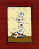 Sushi II Poster by Andrea Laliberte