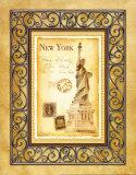New York Postcard Prints by Andrea Laliberte