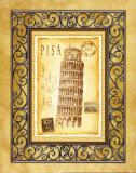Pisa Postcard Prints by Andrea Laliberte