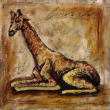 Safari Giraffe Prints by Tara Gamel