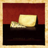 Cheeses III Art by Andrea Laliberte