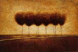 Abstract Landscape III Art by Susan Osborne
