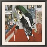 El cumpleaños Póster por Marc Chagall