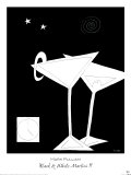 Black and White Martini II Posters by Mark Pulliam