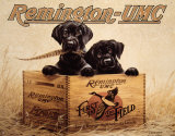 Remington Finder's Keepers Tin Sign