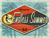 Genuine– Ewiger Sommer Blechschild
