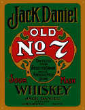 Jack Daniels Green Blikskilt