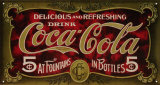 Coca- Cola Tin Sign