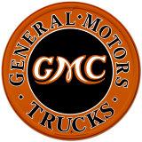 GMC Trucks Plechová cedule