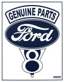 Ford V-8 Tin Sign
