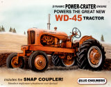 WD45 Tin Sign by Allis Chalmers